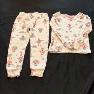 Porter toddler girls pajama set size 4T